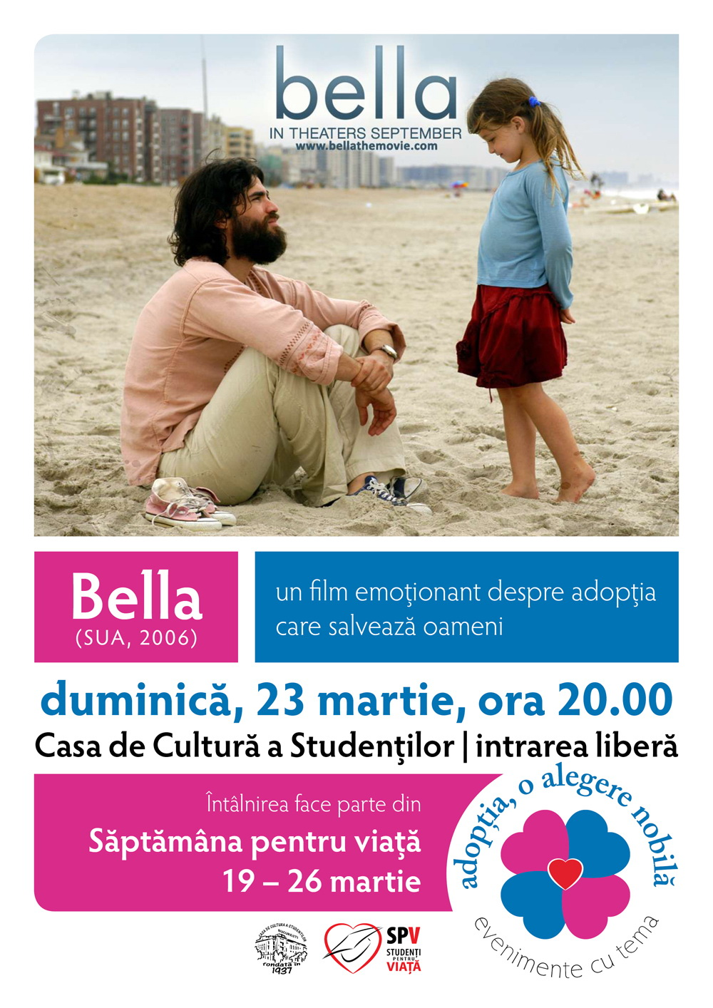 Photo of Romania's Pro-Life Week 2014: Bella, a Movie Celebrating Life