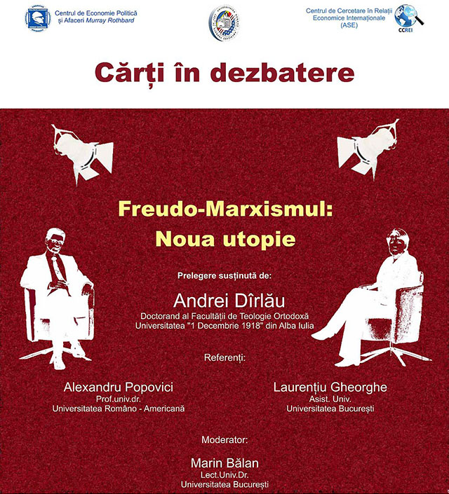 "Photo of Conferința ""Freudo-Marxismul: Noua utopie"""
