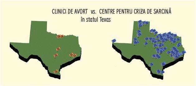texas - centre sprijin vs centre avort