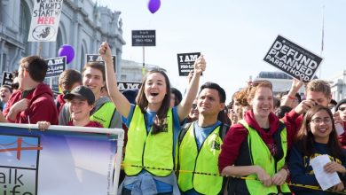 Photo of VIDEO. Filmare aeriană: 70.000 de participanți la Marșul pentru viață 2018 de la San Fancisco – Walk for Life West Coast