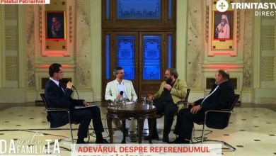 Photo of VIDEO. Dezbatere LIVE despre referendum transmisă simultan la Trinitas TV și Radio Trinitas