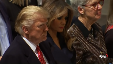 Photo of VIDEO Președintele Donald Trump și soția sa, Melania Trump, au cântat colinde de Crăciun la Catedrala Națională