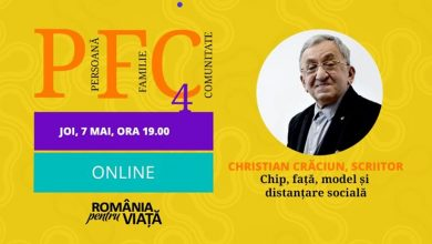 "Photo of VIDEO. PFC online – Christian Crăciun: ""Chip, față, model și distanțare socială"""