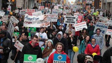 Photo of Aproape 20.000 de oameni au participat la Marșul pentru viată în Canada