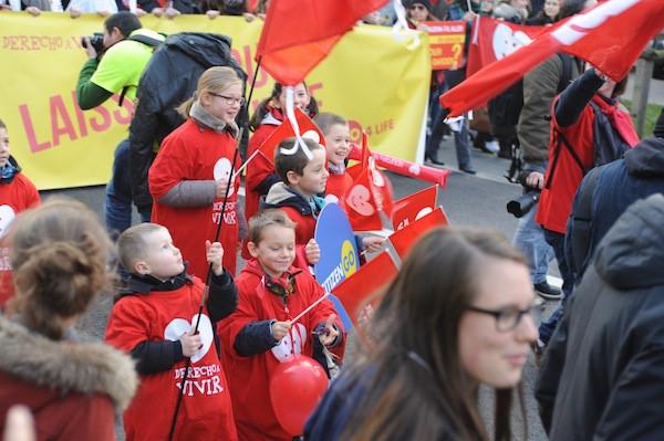 Photo of 40.000 de participanți la Marșul pentru Viață din Paris