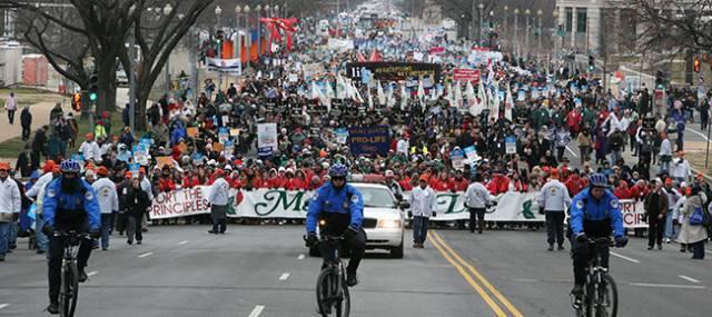 Photo of Rugați-vă pentru vreme bună la Marșul pentru Viață din Washington