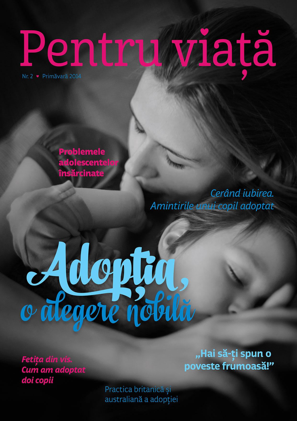 Photo of Citește online aici revista Pentru viață nr.2, ediția Primăvară 2014