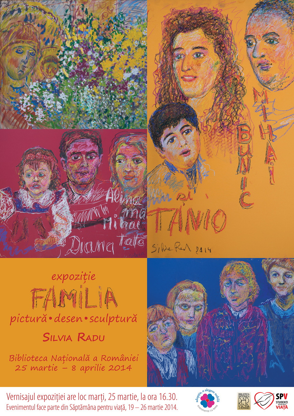 "Photo of Romania's Pro-Life Week 2014: ""The Family"" – Christian Art Exhibition in Bucharest"