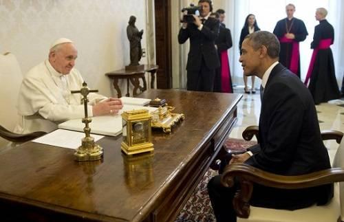 Photo of Președintele Obama a discutat cu Papa Francisc despre avort și libertatea religioasă