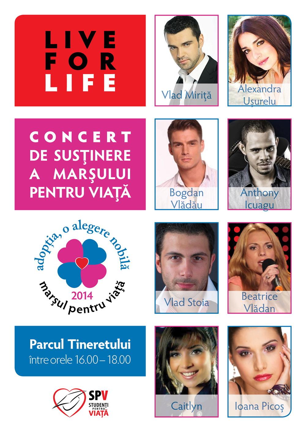 Photo of București, 22 martie: Concert de susținere a Marșului pentru viață