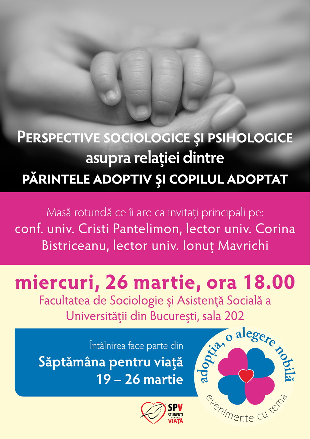 Photo of Romania's Pro-Life Week 2014: A Sociological and Anthropological View on Adoption
