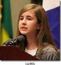 Photo of Lia Mills, copilul minune al mișcării pro-viață