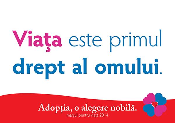 """Photo of """"Un copil nenăscut este om și are dreptul la viață"""" – Radu Buțu, Marșul pentru viață 2014, Târgu Jiu"""