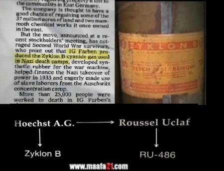 Photo of Fabricantul gazului care ucidea evreii în holocaust a produs și pastila abortivă RU-486