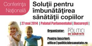 """Photo of Conferința """"Soluții pentru îmbunătățirea sănătății copiilor"""""""