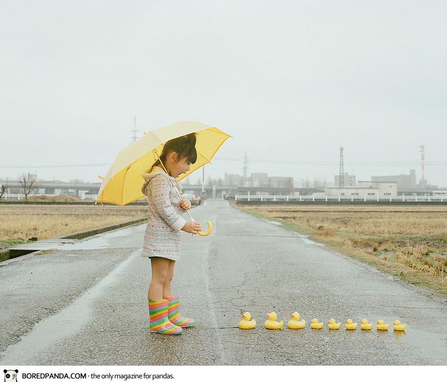 Photo of Un fotograf japonez își surprinde fiica de 4 ani într-o serie de imagini irezistibile