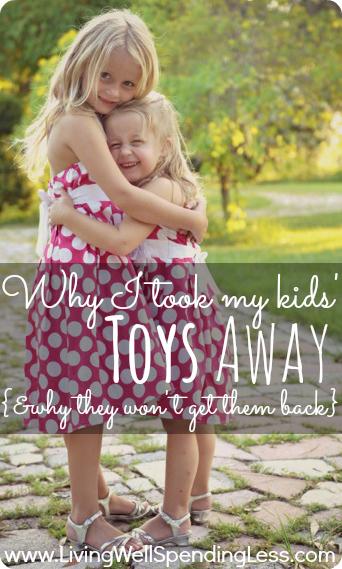 Photo of De ce le-am luat copiilor mei jucăriile și de ce nu le vor primi înapoi