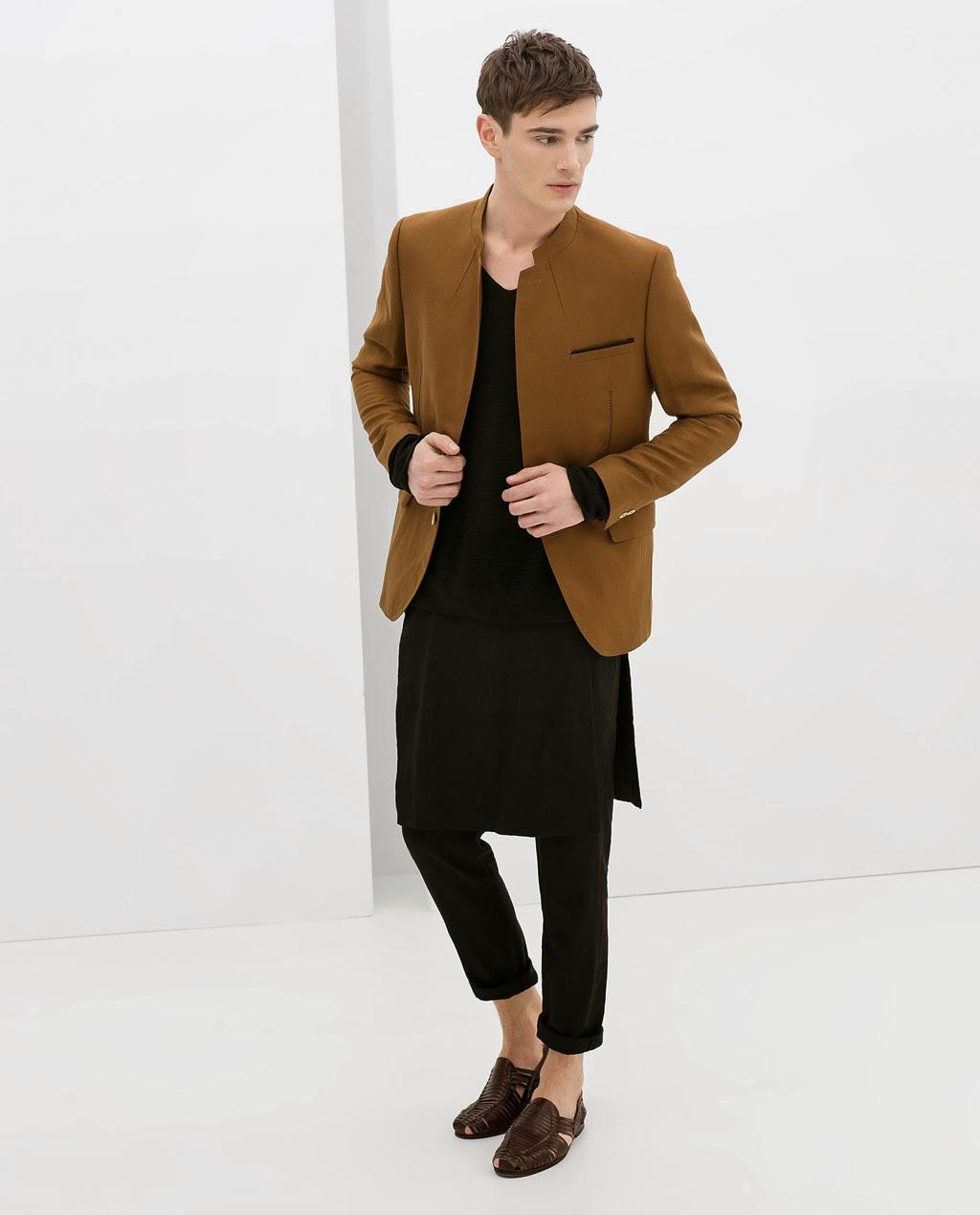 Photo of Zara propune fusta-pantalon pentru bărbat! Teoria genului se răspândește…
