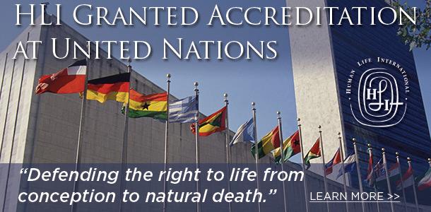Photo of Victorie pentru viață – HLI obține statut consultativ special la ONU