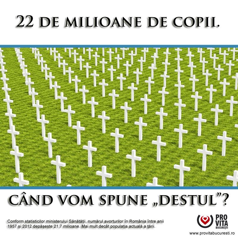 Photo of Un adevărat masacru: 22.000.000 de avorturi în România (1958-2011)!