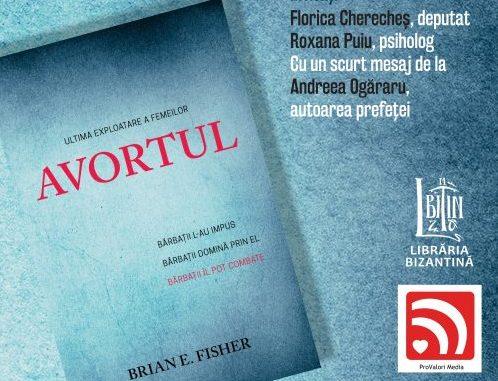 """Photo of """"Primul drept al omului este dreptul la viață"""" – lansare de carte"""