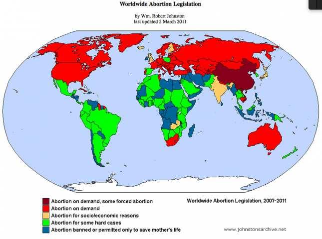 Photo of Este oficial: peste 1 miliard de avorturi în lume din 1920