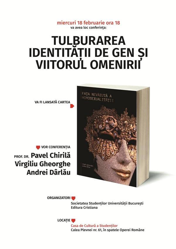 """Photo of Lansarea cărții """"Fața nevăzută a homosexualității"""""""