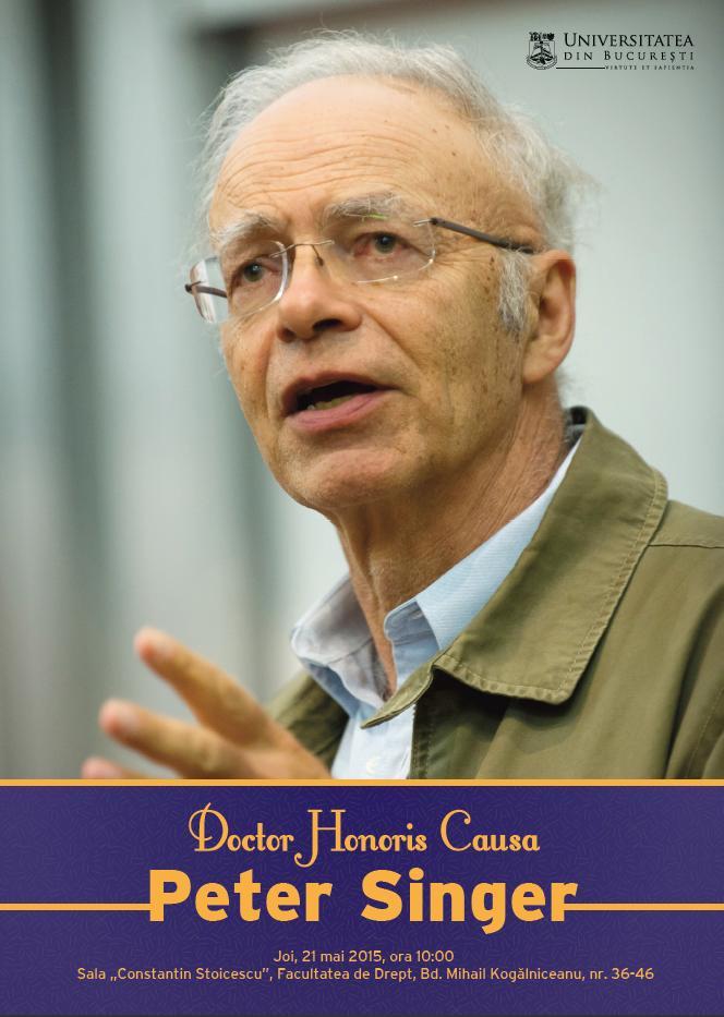 Photo of Directorul CCEA: Să-l interzicem pe Peter Singer?