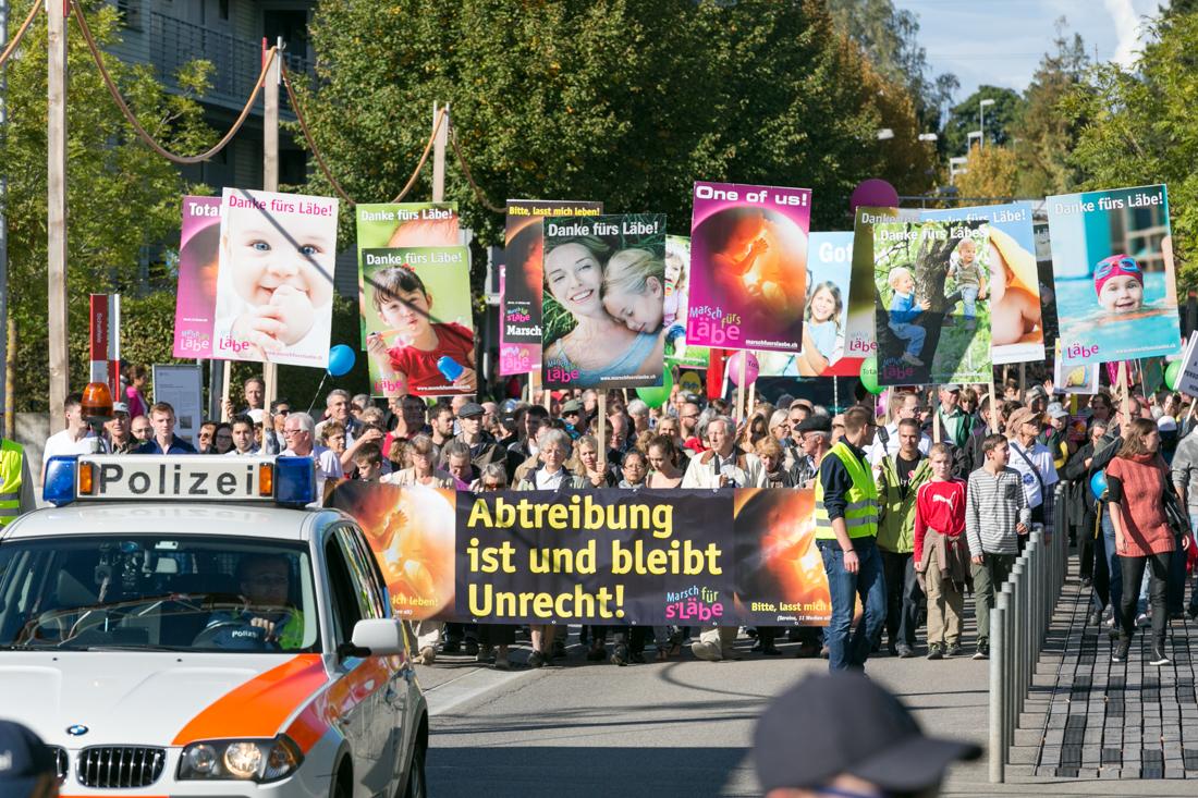 Photo of Marșul pentru viață din Elveția – Zurich 2015