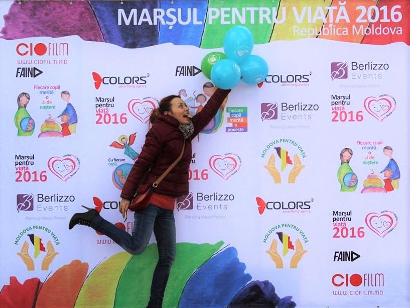 """Photo of FOTO: Marșul pentru Viață 2016 – """"Pentru viață, pentru femeie, pentru familie"""" la Chișinău"""