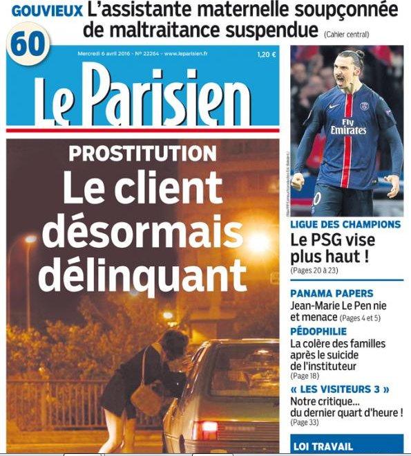 Photo of Legea care penalizează clienții prostituatelor s-a votat și în Franța