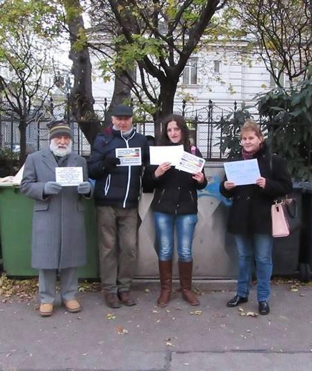 Photo of Viena: Miting de susținere pentru întoarcerea copiilor Barbu-Racoltă în familia lor naturală