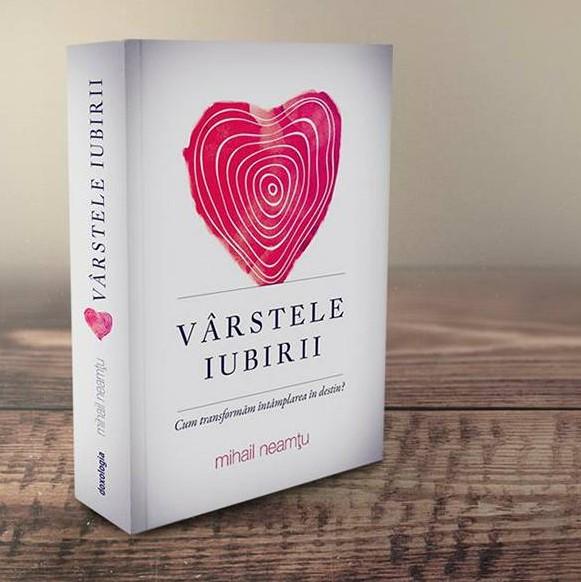 """Photo of UPDATED, VIDEO. Lansare de carte: """"Vârstele iubirii. Cum transformăm întâmplarea în destin?"""" de Mihai Neamțu"""