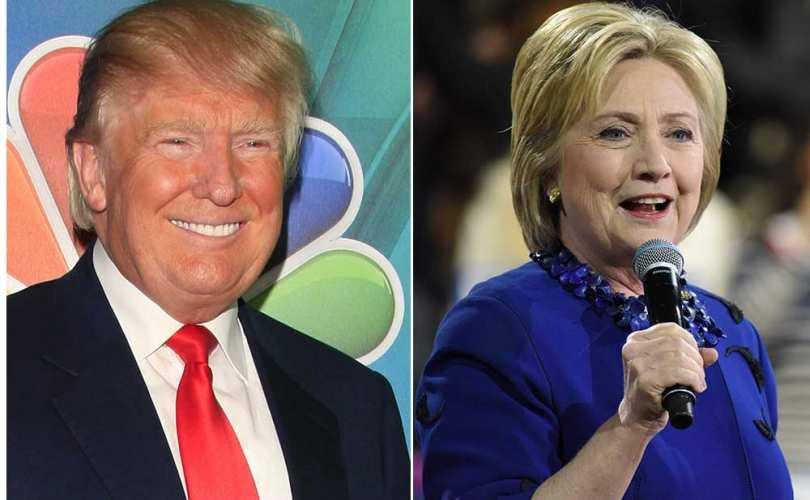 Photo of Ghidul alegătorului american pro-viață: Trump versus Clinton în chestiuni referitoare la viață și căsătorie