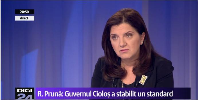 """Photo of Raluca Prună, Ministrul Justiției: """"A avea o definiție restrictivă (a căsătoriei) ar fi netolerant. Așa cum identitatea mea e de român, cred că pot avea (și) identitatea mea sexuală"""""""
