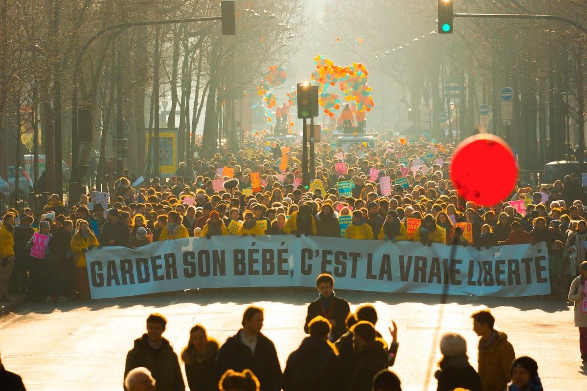 Photo of FOTO & VIDEO: 50.000 de persoane la Marșul pentru viață de la Paris, 22 ianuarie 2017