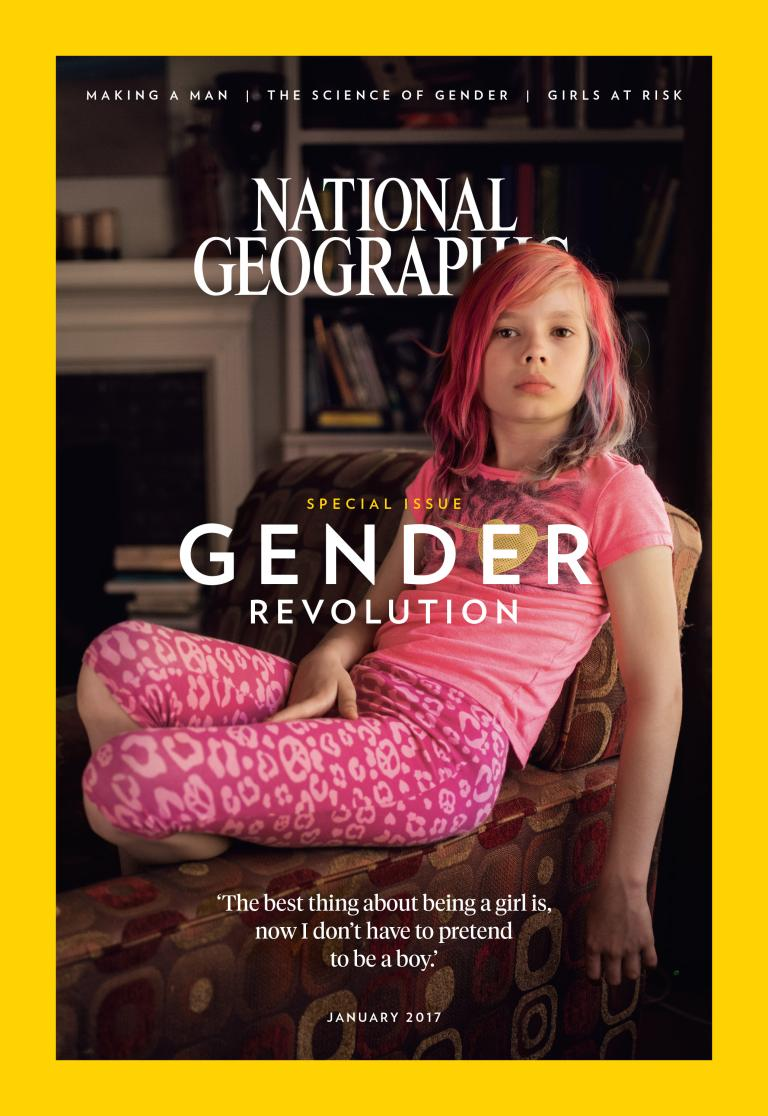 """Photo of National Geographic a dedicat ediția din ianuarie 2017 """"Revoluției GENDER"""". Cum au reacționat cititorii"""