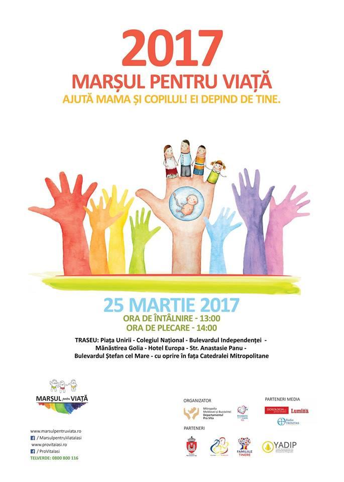 Photo of Programul Marșului pentru Viață 2017 la Iași