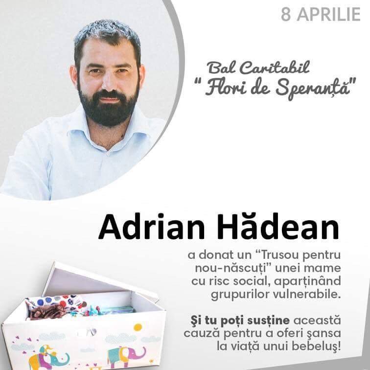 Photo of Susține și tu, alături de Chef Adi Hădean, trusoul unui bebeluș! Campanie și bal caritabil: Ajută o mamă!