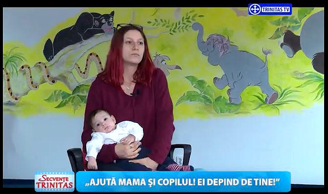 Photo of Luna pentru Viață 2017 la Trinitas TV: O criză de sarcină depășită cu bine. Și tu poți ajuta o mamă!