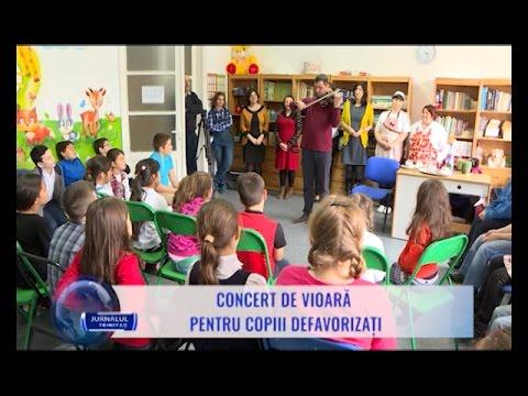 Photo of Luna pentru Viață 2017 la București. 14 martie: Concert de vioară pentru copiii defavorizați