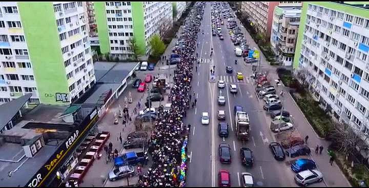 Photo of VIDEO: Marșul pentru Viață 2017 din București văzut din dronă, de Prodocens Media