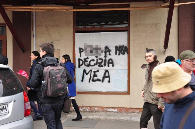 Photo of Cum se explică violența mesajelor și vandalismele îndreptate împotriva Marșului pentru viață: Cuvintele sunt ale celui care le rostește