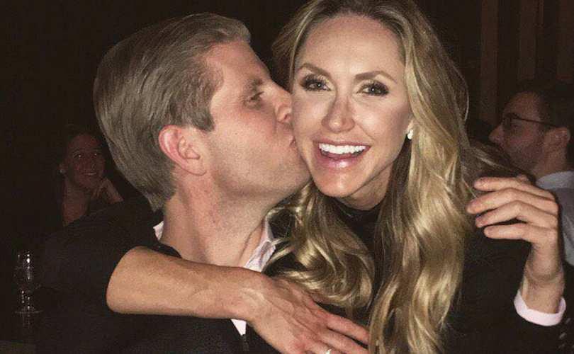 """Photo of """"Suntem binecuvântați!"""" Soția lui Eric Trump, Lara, este însărcinată cu un băiețel"""