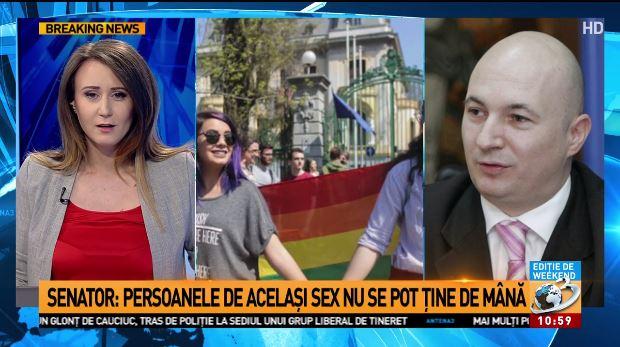 """Photo of Codrin Ștefănescu, Secretar-General adjunct la PSD: """"Vreau ca băiețelul meu, când va face patru ani, să nu vadă doi bărbați că se țin de mână sau se sărută în mijlocul străzii"""""""
