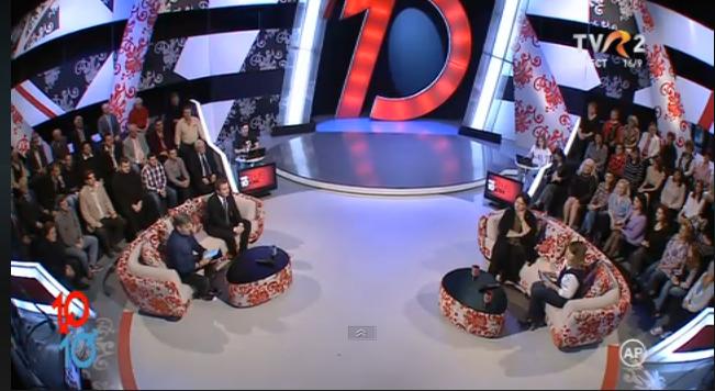 """Photo of VIDEO. 3 aprilie 2017: Pro-viață sau pro-avort? Emisiunea """"Femei de 10, Bărbați de 10"""" la TVR 2 cu dr. Monica Pop, dep. Daniel Gheorghe"""