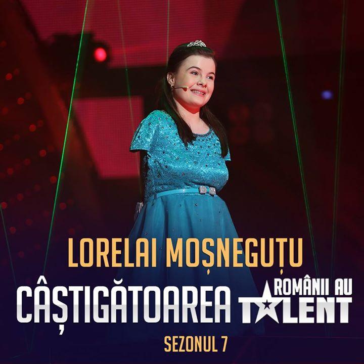 """Photo of VIDEO: Lorelai Moșneguțu câștigă finala concursului """"Românii au talent"""""""