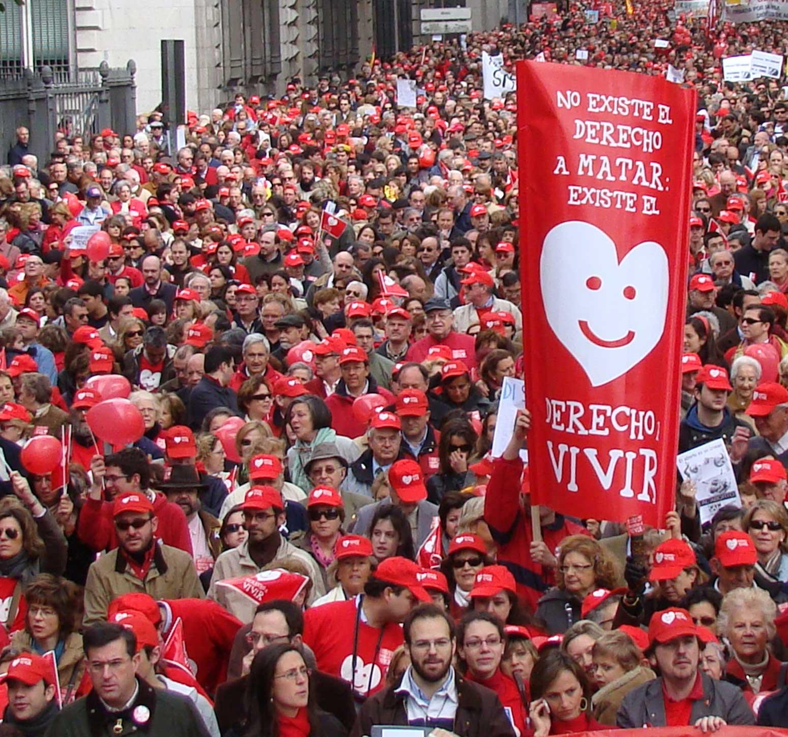 Photo of VIDEO: Duminică, 18 iunie 2017, în 21 de orașe din Spania are loc Marșul pentru Viață 2017
