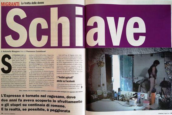 Photo of Sclave în Sicilia: 19% din avorturile provinciei Ragusa se înregistrează la lucrătoarele agricole din România