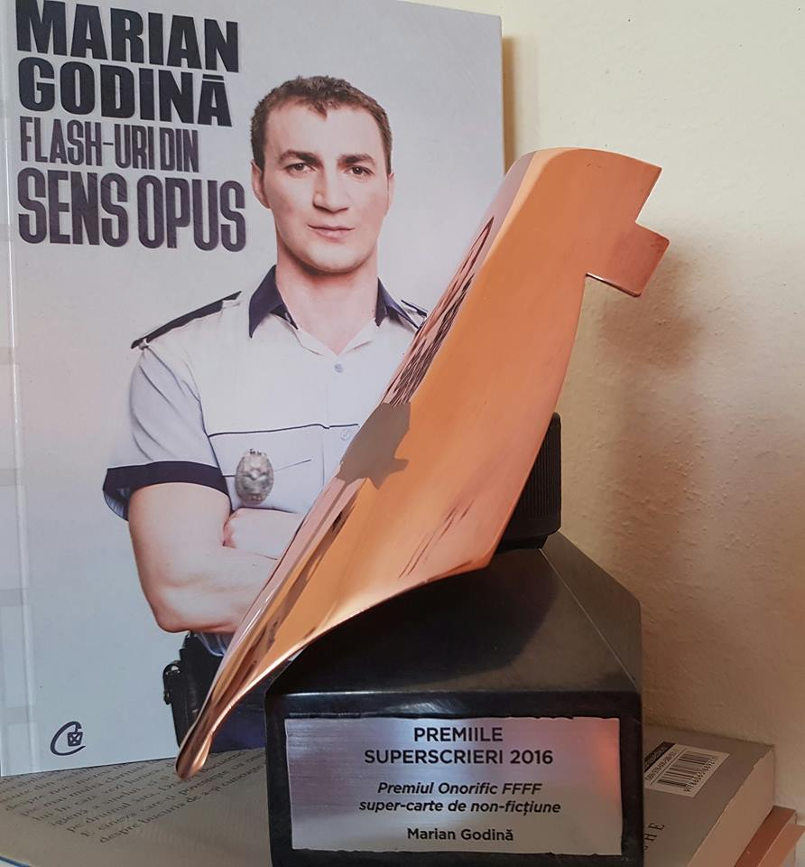"""Photo of Polițistul Marian Godină: """"O actriță de care nu auzisem s-a gândit că oamenii ăia, ale căror păreri sunt neschimbate de câteva secole, pot fi aduși pe calea cea dreaptă prin dialog"""""""